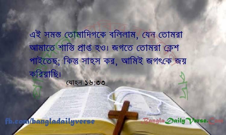 যোহন ১৬:৩৩